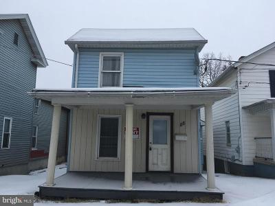 Frostburg Single Family Home For Sale: 88 Bowery Street