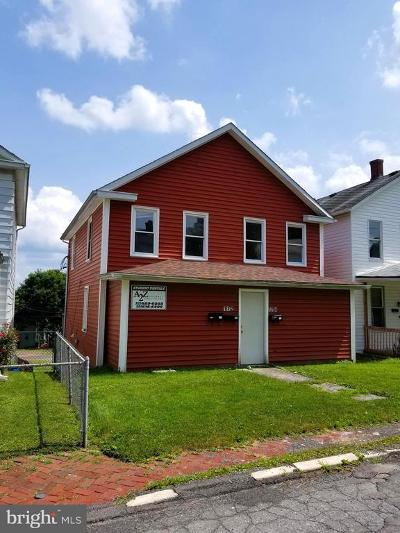 Frostburg Single Family Home For Sale: 112 Maple Street