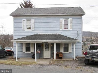 Frostburg Single Family Home For Sale: 138 Spring Street
