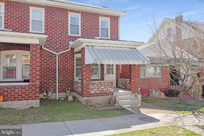 Cumberland MD Single Family Home For Sale: $64,900