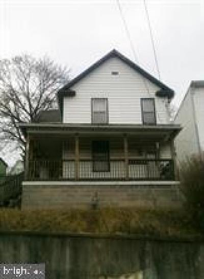 Cumberland Single Family Home Under Contract: 477 Baltimore Avenue