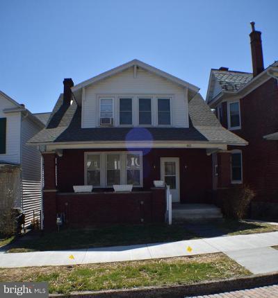 Cumberland Single Family Home For Sale: 822 Shriver Avenue