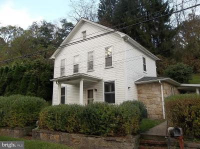 Frostburg Single Family Home For Sale: 17219 Porter Road