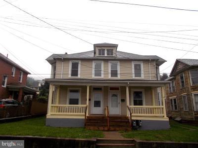Westernport Single Family Home For Sale: 321 Vine Street #321