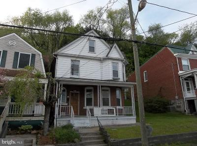 Cumberland Single Family Home For Sale: 920 Maryland Avenue