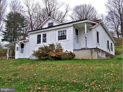 Frostburg Single Family Home For Sale: 17016 Eckhart Cemetery Road