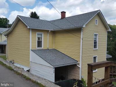 Lonaconing Single Family Home For Sale: 38 Church Street