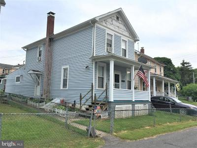 Frostburg Single Family Home For Sale: 14822 Railroad Street