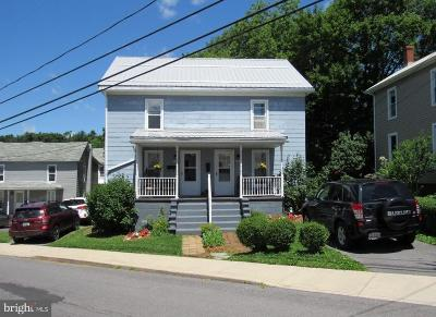 Frostburg Single Family Home For Sale: 121-123 S Water Street S