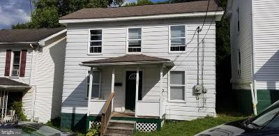 Frostburg Single Family Home For Sale: 28 Hill Street
