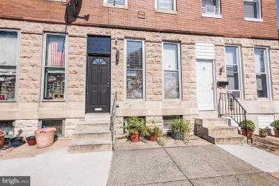 Patterson Park Townhouse For Sale: 3 N Ellwood Avenue