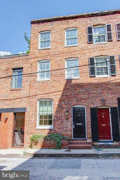 Baltimore City Townhouse For Sale: 126 E Churchill Street