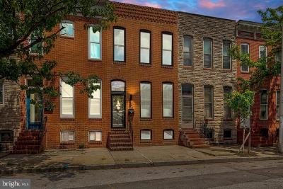 Canton, Canton Company, Canton Cove, Canton East, Canton, Patterson Park, Canton/Brewers Hill, Canton/Lighthouse Landing Townhouse For Sale: 3106 O'donnell Street