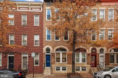 Baltimore Townhouse For Sale: 1522 E Baltimore Street