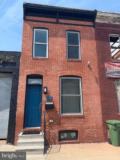 Baltimore City Rental For Rent: 520 N Patterson Park Avenue