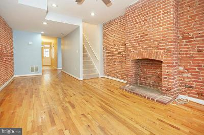 Federal Hill Townhouse For Sale: 1940 Light Street