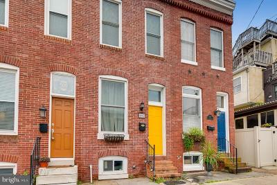 Baltimore City Townhouse For Sale: 507 E Clement Street