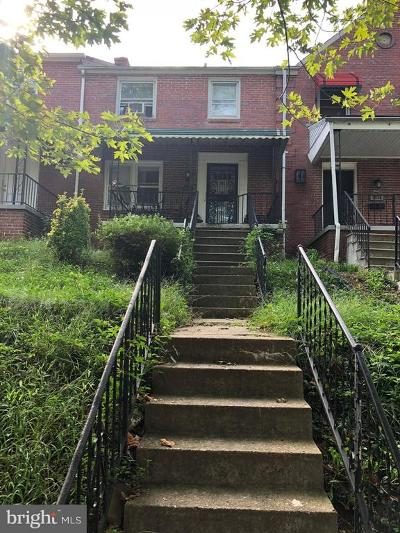 Baltimore Townhouse Active Under Contract: 3932 Rexmere Road
