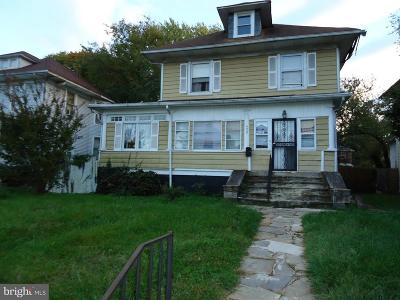Baltimore Single Family Home Under Contract: 4405 Belvieu Avenue