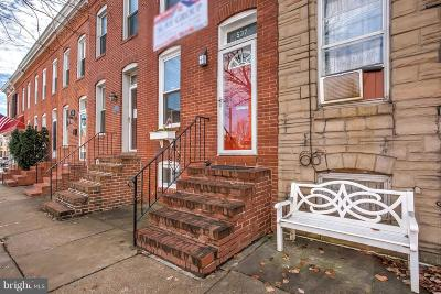 Federal Hill Townhouse For Sale: 537 E Fort Avenue