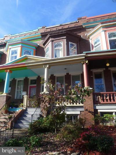 Baltimore City Townhouse For Sale: 3210 Abell Avenue