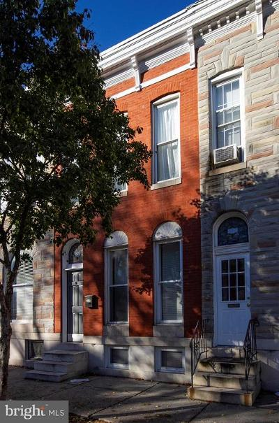 Baltimore City Townhouse For Sale: 1222 S Charles Street