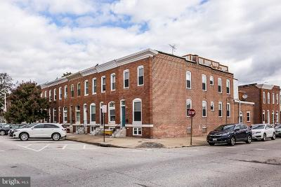Baltimore Townhouse For Sale: 533 S Luzerne Avenue