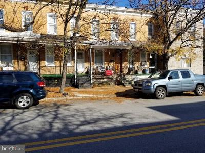 Baltimore City Townhouse For Sale: 1229 S Carey Street