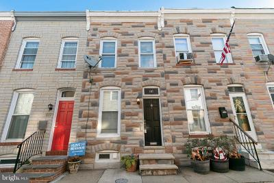 Baltimore Townhouse For Sale: 107 N Port Street