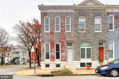 Baltimore Townhouse For Sale: 2400 Brentwood Avenue