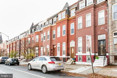 Baltimore Townhouse For Sale: 1246 N Broadway