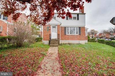 Baltimore Single Family Home For Sale: 3702 Raspe Avenue