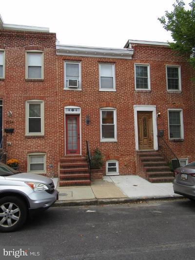 Baltimore City Rental For Rent: 1532 William Street