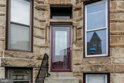 Baltimore Townhouse For Sale: 2233 Madison Avenue
