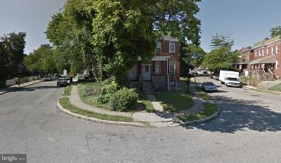 Baltimore Single Family Home For Sale: 413 Denison Street