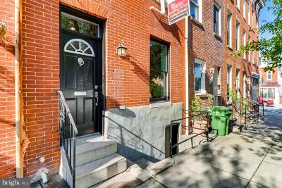 Butchers Hill Townhouse For Sale: 2236 Fairmount Avenue