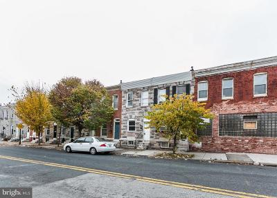 Baltimore City Townhouse For Sale: 158 N Ellwood Avenue