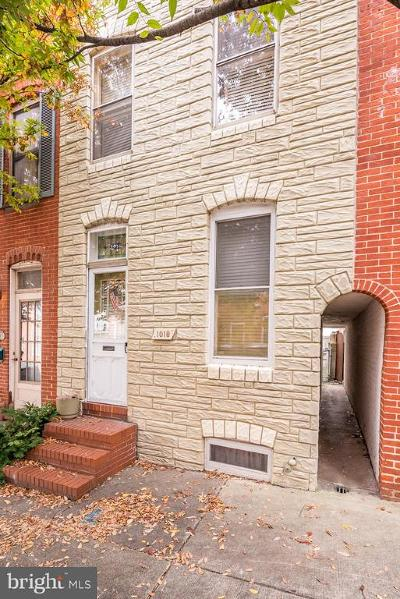 Baltimore City Townhouse For Sale: 1018 S Bouldin Street