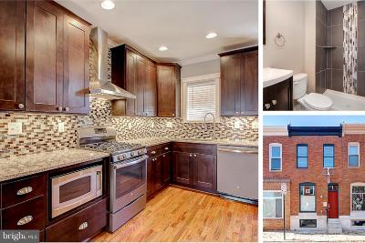 Baltimore City Townhouse For Sale: 344 Robinson Street S