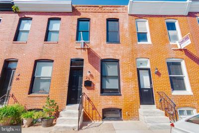 Baltimore City Townhouse For Sale: 28 Curley Street S
