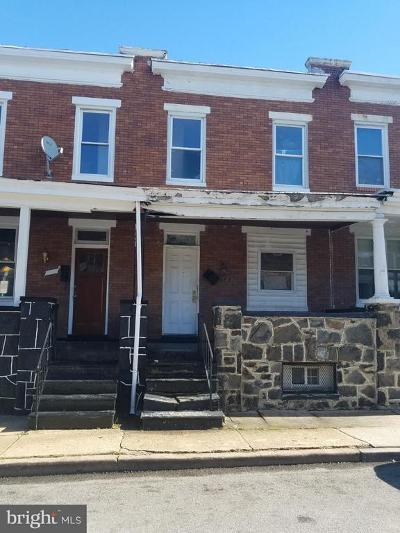 Baltimore City Townhouse For Sale: 1231 N Decker Avenue