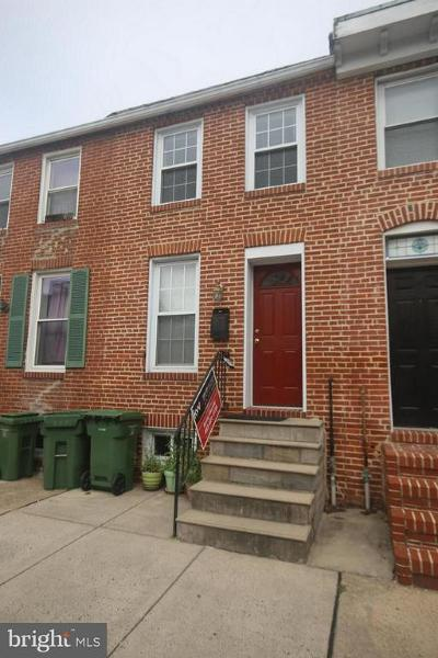 Baltimore City Townhouse For Sale: 2418 Foster Avenue