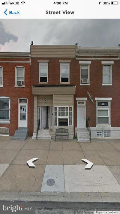 Baltimore MD Townhouse For Sale: $43,990