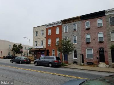 Baltimore City Townhouse For Sale: 2200 E Fayette Street