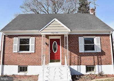 Baltimore City Single Family Home For Sale: 6004 Winthrope Avenue