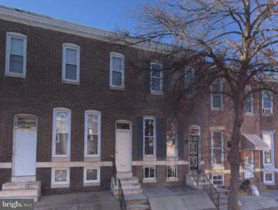 Baltimore Townhouse For Auction: 2626 Boone Street