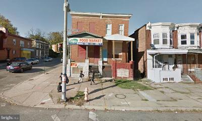 Baltimore Townhouse For Auction: 2798 W North Avenue