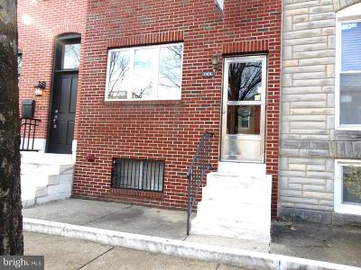 Baltimore Townhouse For Sale: 144 N Kenwood Avenue