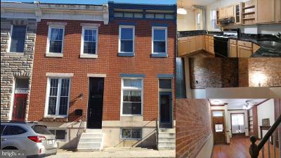 Federal Hill Townhouse For Sale: 1419 Light Street