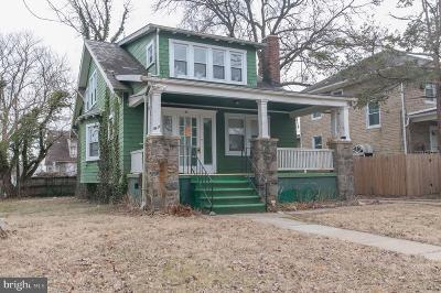 Baltimore Single Family Home For Sale: 3411 Cedardale Road